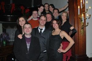 Members of CRUSH Celebrate the New Year